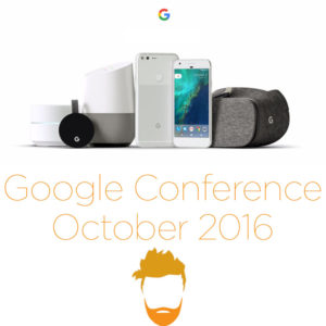 Google Conference October 2016