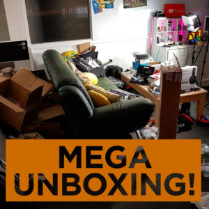 MEGA UNBOXING!! Panasonic GH4, Sony 4K FDR AX-53, Zoom H6 - £4000 Worth of Unboxing!